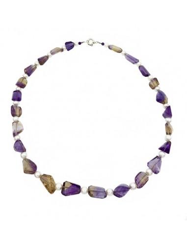 Collar amatrinos, perlas cultivadas,...
